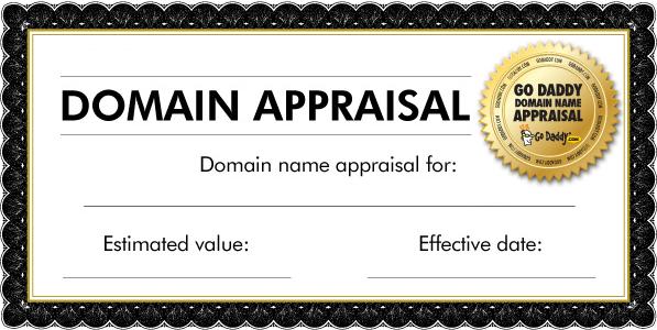 appraisal cert